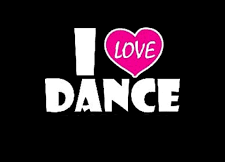 I love dance LOGO SN